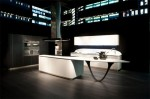 smooth rounded lines of corners of high demanded Ola kitchen by Snaidero
