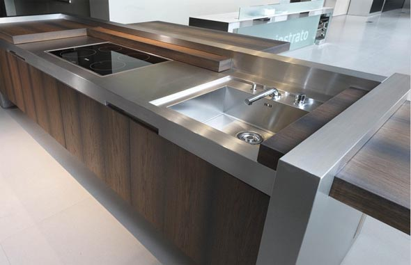 sophisticated kitchens Marco Gorini