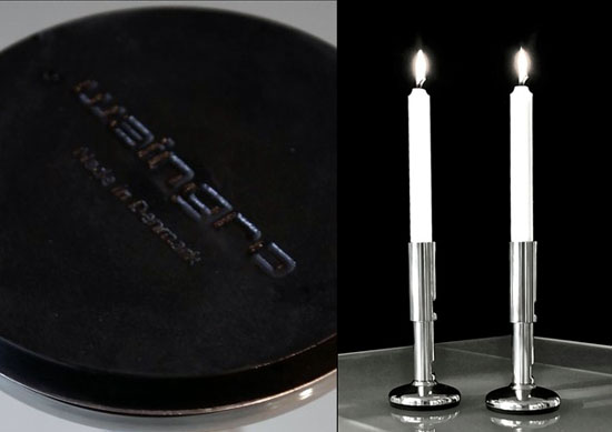 stainless steel candlestick holders called Waingro with highest of quality