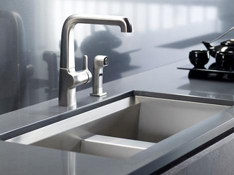 Stainless Steel Kitchen Sink With Beveled Edge Kitchen Design Ideas