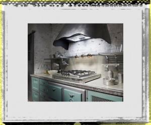 stove of Unique Kitchen Design in Vintage Design kitchen stove design