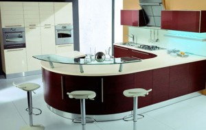 the Opera kitchen design is from Tomassi Cucine serve the art of cooking