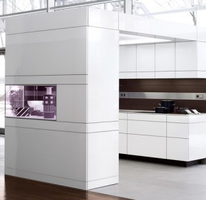 the kitchen communicates with environment bringing room to life