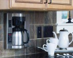 thermal coffee maker new Brew Expres wall mounted has SCAA standard