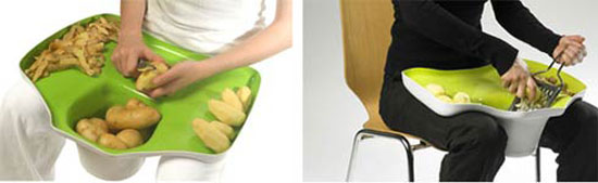 tomas kral lap counter designs of person to slice fruits and vegetable