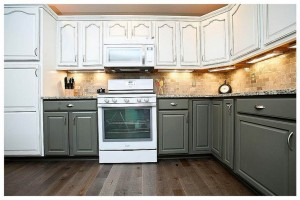 two tone painted kitchen cabinets two tone paint kitchen cabinets vtrgciri two toned kitchens