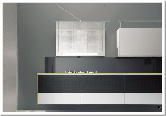 ultramodern kitchen design minimalist from aluminum frame and decorative panel