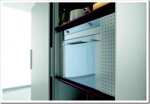 ultramodern kitchens design minimalist from aluminum frame and decorative panels