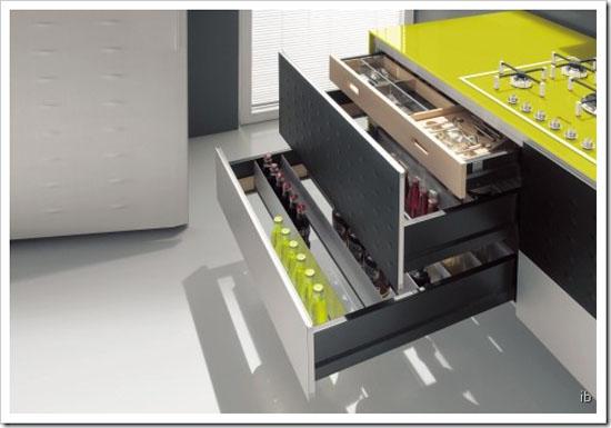 ultramoderns kitchen design minimalist from aluminum frame and decorative panels