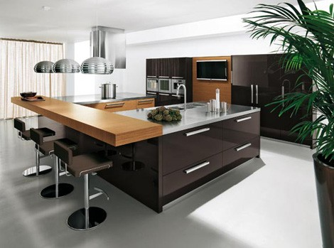Urban Kitchen Design With Elegant And Modern Style From Copat Kitchen Design Ideas At Hote