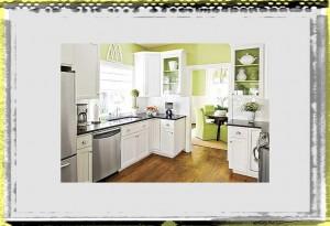 white cabinet green wall kitchen design kitchen ideas decor