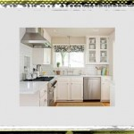 white feminine small kitchen ideas