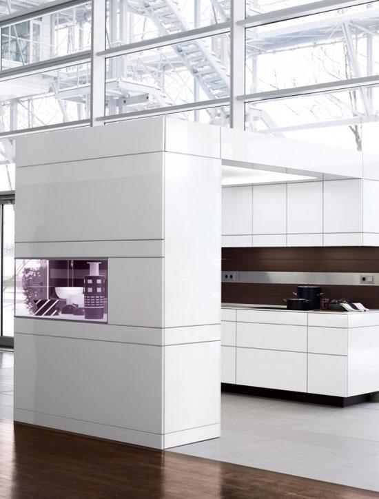 white kitchen cabinet and wooden walls has modern minimalist kitchen style