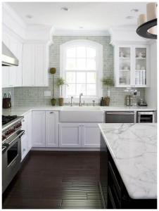 white kitchen designs DP Fiorella Design White Kitchen Sink Island white kitchen designs