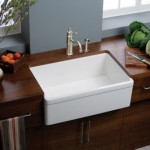 white sink wood