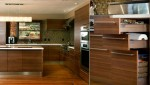 wood countertops granite gives rustic atmospherefor modern and traditional houses