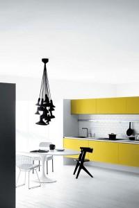 yellow kitchen white kitchen design