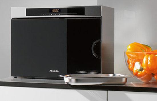 DG 1450 countertop steam oven Elegant design of kitchen appliances