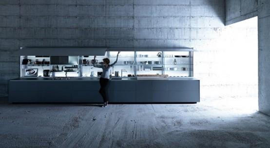 Ergonomic Kitchens Design features nano-coated surfaces scratch resistant