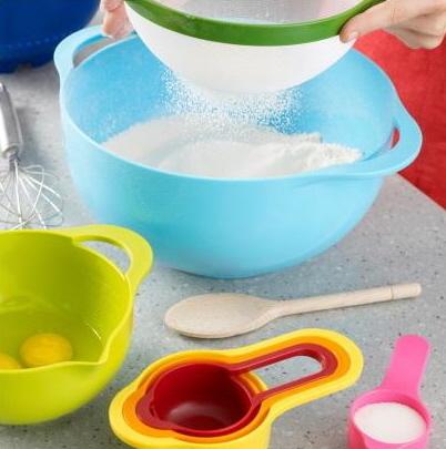 Food Preparation Bowls Nest 8 saving space