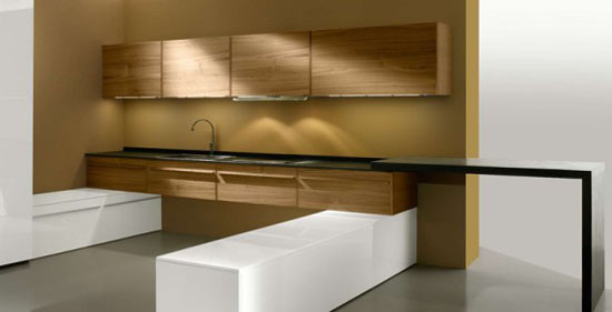 Multimedias Kitchen for Open Plan Areas – Opera from Oikos