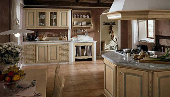 White gray kitchens marble Designs masonry kitchens by Arrex