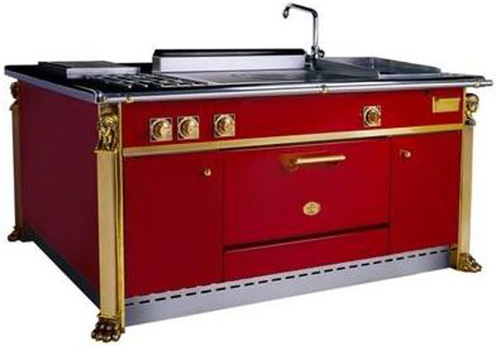 de Provence kitchen islands available multiple ovens warming cabinets and large sink