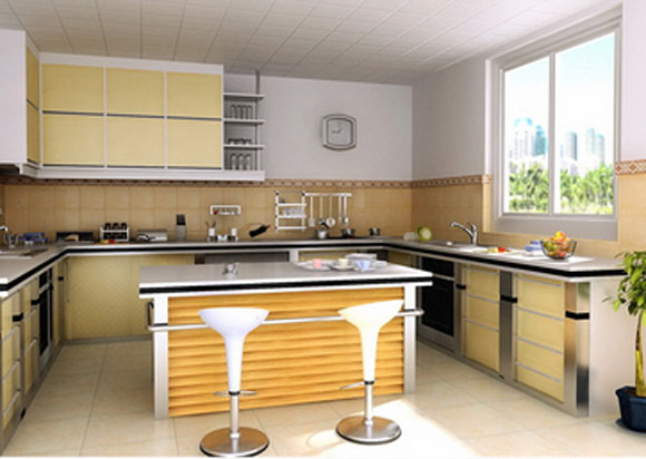 decorating kitchen with a country style interior