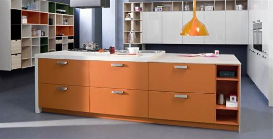 expressive color and natural elegance kitchen CODE by Snaidero
