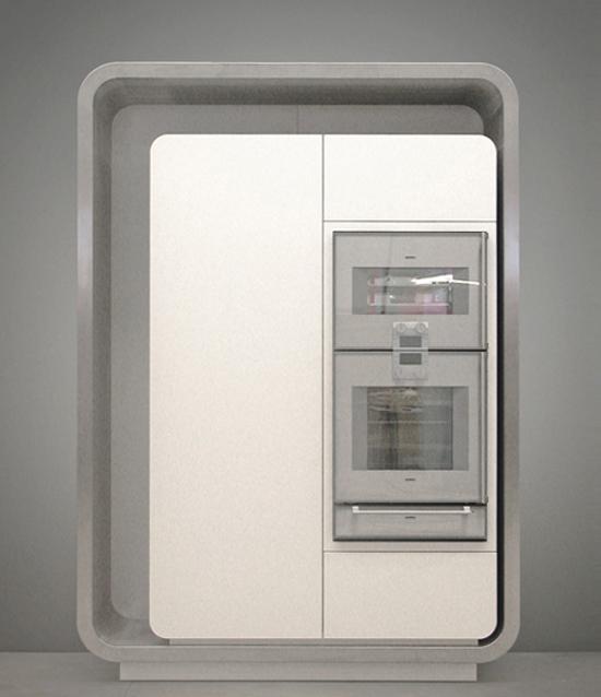 gray scale colors Kitchen Strato Flex 1 Kitchen designed to be new metropolitan kitchen icon