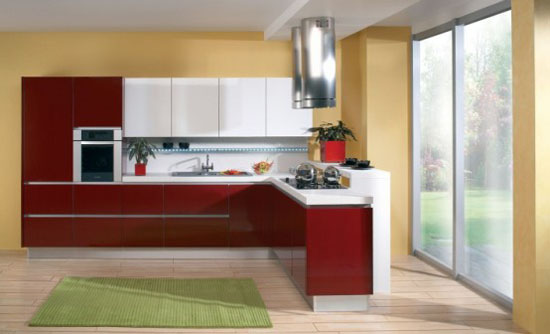 highs glossy or wooden kitchen Sigma Delta and Libra From Gorenje