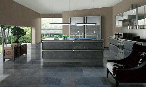 japaneese modern kitchen design Toyo Kitchen Style with stainless steel accents