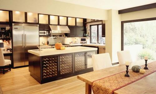 kitchen island table with storage for modern kitchen design