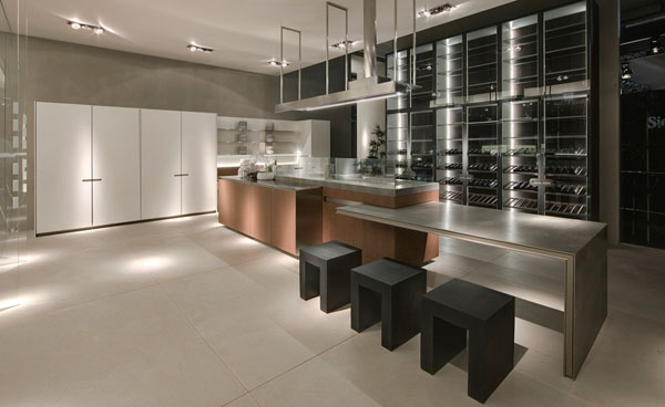 minimalist kitchen design photos with clean aesthetics and flex wall cabinets