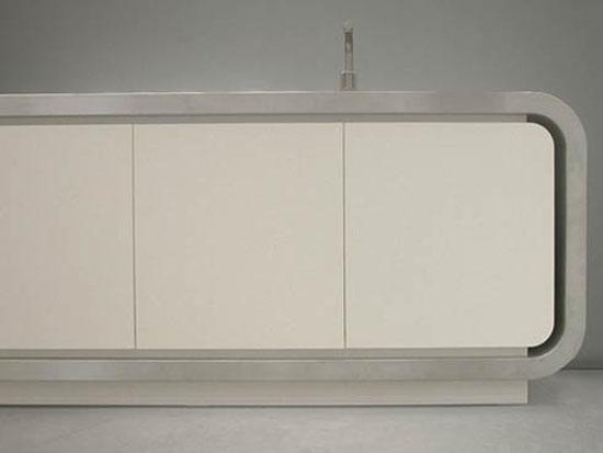 minimalist kitchens cabinets design Flex 1 modern Italian kitchen from Strato