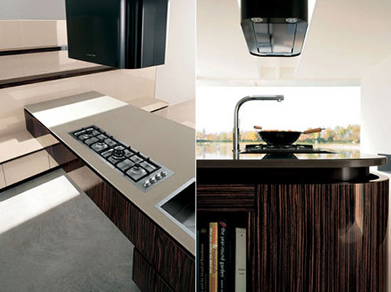 modern kitchen use stainless steel and melamine add shine modern contemporary feel