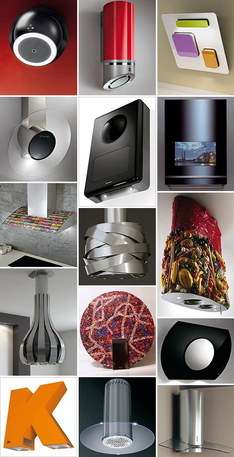 modern range hoods techy art-like even fun and funky from Appliancist