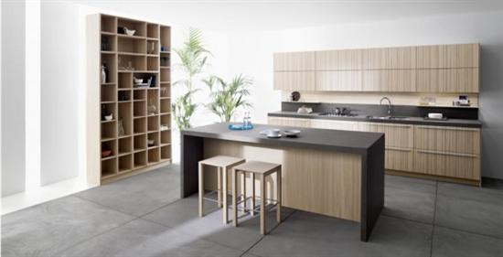 natural elegance expressive colour kitchen CODE by Snaidero
