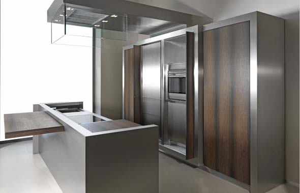sophisticated kitchens Strato 031 from Marco Gorini