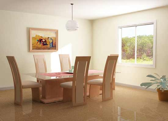 Top modern dining room design with color themes